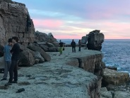 Sunset Pulpit rock