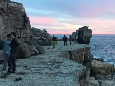 Sunset Pulpit rock